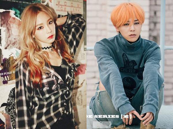 Ini Kata SM Entertainment dan YG Entertainment Soal G-Dragon dan Taeyeon