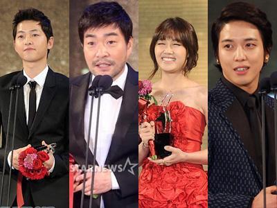 Ini Dia Daftar Peraih Penghargaan Dalam K-Drama Star Awards 2012
