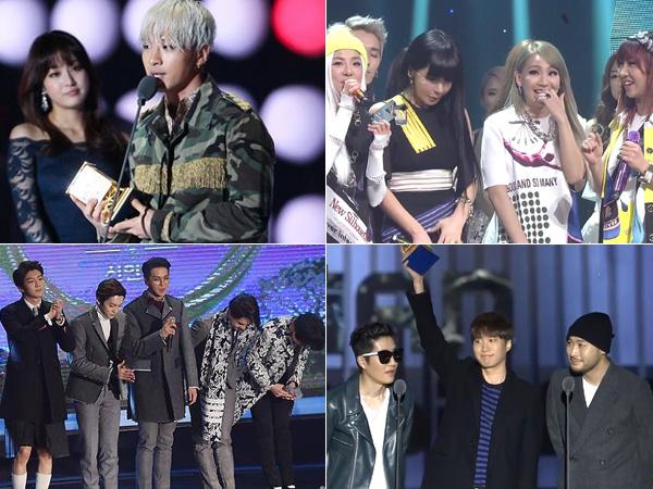 Dari Chart Musik Hingga Ajang Penghargaan, YG Entertainment Sukses Rajai Panggung Musik 2014?