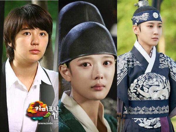 5 Aktris yang Berperan Jadi Cowok di Drama Korea