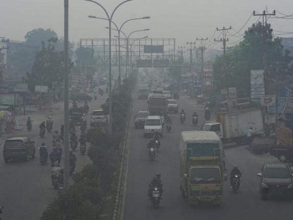 Kualitas Udara Pekanbaru Sudah Mencapai Level Berbahaya