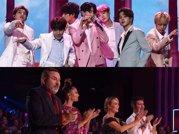 Penampilan Memukau BTS di Panggung 'Britain's Got Talent', Dapat Standing Ovation dari Juri