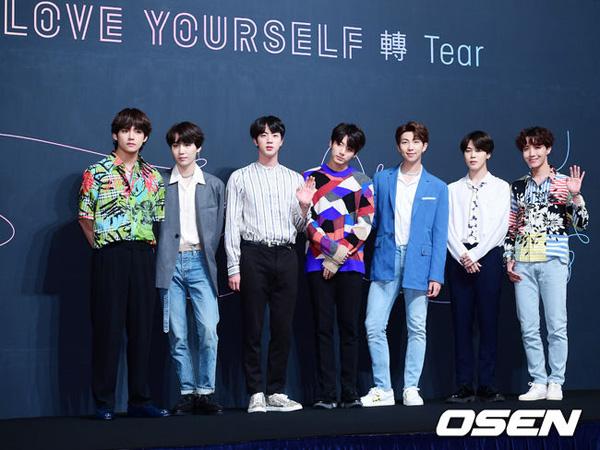 Segera Rilis Album Baru, BTS 'Love Yourself: Tear' Masih Betah di Chart Billboard 200