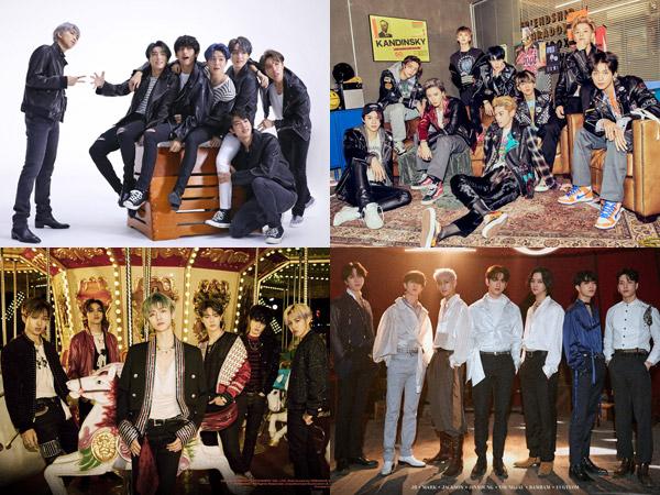 NCT Dream Masuk dengan Album Baru, Siapa Saja yang Bertahan di Chart Billboard World Album?