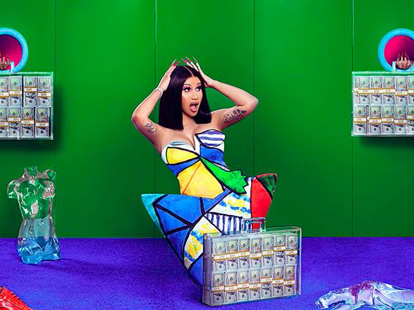Cardi B Jadi 'Women of The Year' Billboard Tahun Ini