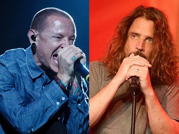 Bersahabat, Chester Bennington Gantung Diri di Hari Ulang Tahun Chris Cornell