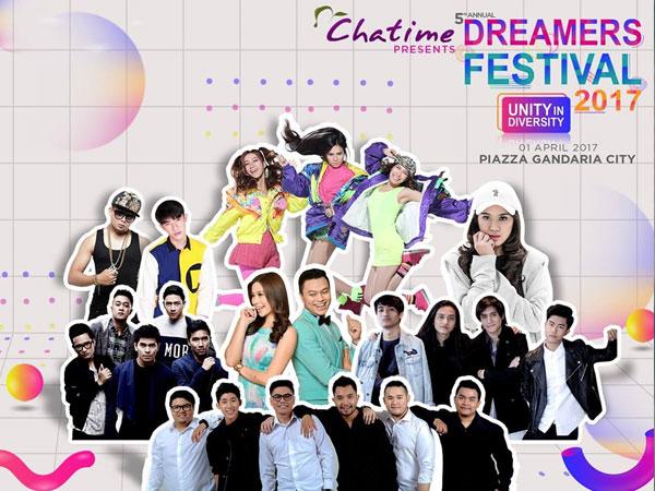 Yuk, Datang ke Festival Musik Terbesar Bertabur Hadiah Spektakuler, Dreamers Festival with Chatime!