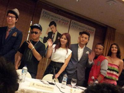 Konser di Jakarta, Eru Akan Bawakan Lagu Super Junior dan Big Bang?