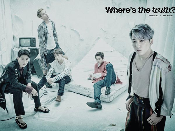 Cuplikan Lagu Hingga Video Musik, FT Island Rilis Rangkaian Teaser Jelang Comebacknya!