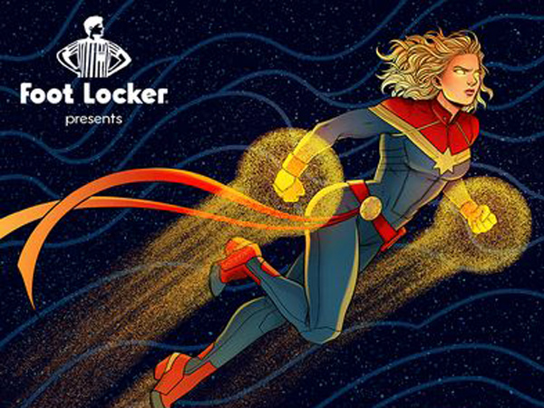 Kolaborasi Marvel dan Adidas, Rilis Sneakers Captain Marvel!
