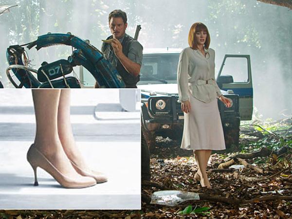 Fakta Menarik Dibalik High Heels yang Dipakai Bryce Dallas Howard di 'Jurassic World'