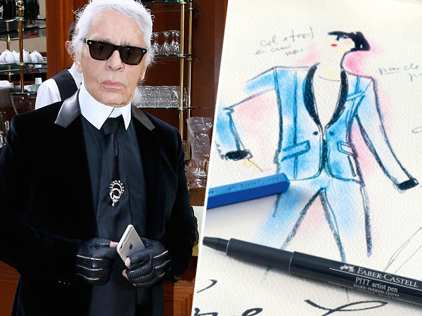 Kolaborasi dengan Faber-Castell, Desainer Chanel akan Luncurkan Pensil Warna Rp 38 Juta