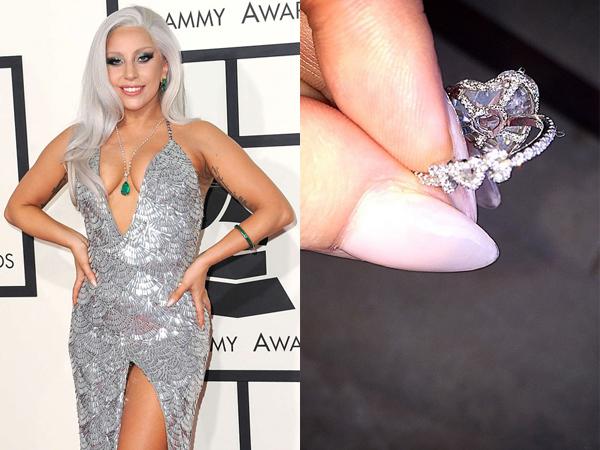 Intip Cincin Tunangan Lady Gaga yang Manis nan Mewah Ini Yuk!