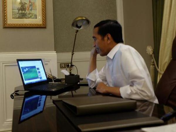 Kembali Salah Fokus, Netizen Ramai Bicarakan Hal Ini Dari Ucapan Selamat Jokowi untuk Timnas