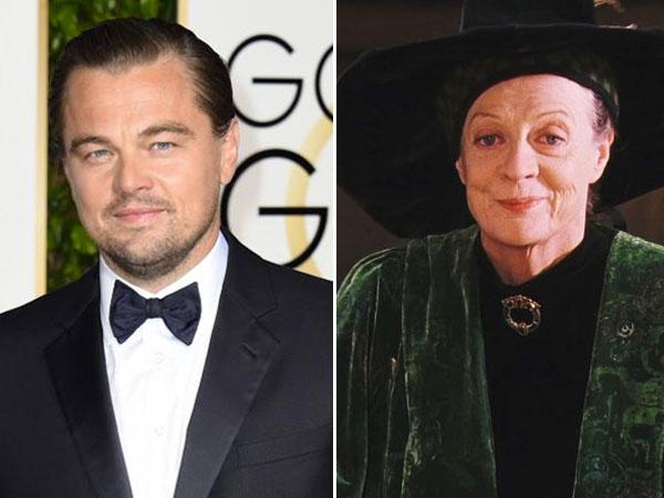 So Sweet, Leonardo DiCaprio Beri Kecupan Mesra untuk Profesor McGonagall Sebagai Hadiah Valentine