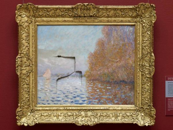 Rusak Lukisan Seharga Ratusan Miliar, Pria Ini Dipenjara