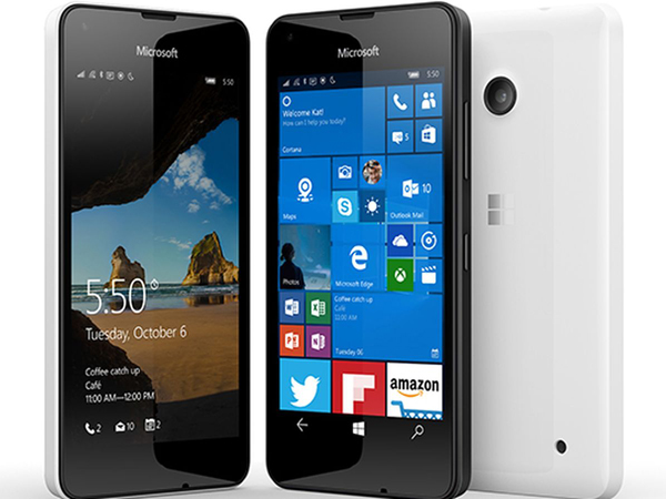 Microsoft Rilis Lumia 550, Smartphone Windows 10 Paling Murah