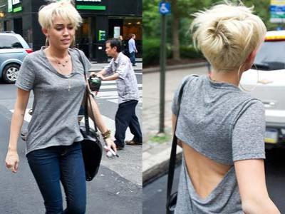 Miley Cyrus Tampil Cepak, Liam Hemsworth Cuek