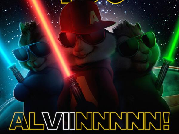 Jadwal Dimajukan, 'Alvin and The Chipmunks 4' Tantang 'Star Wars 7' Dengan Poster Lucu