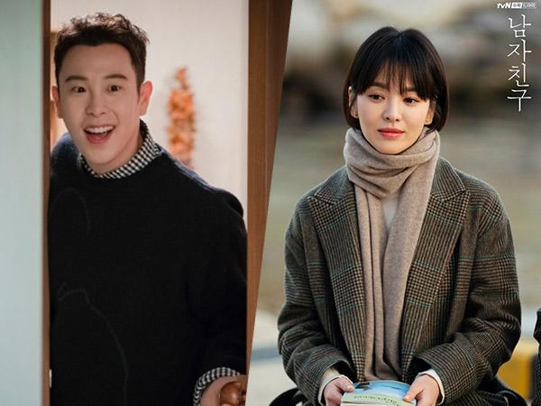 P.O Block B Ungkap Cerita Lucu Gagal Fokus Saat Syuting Bareng Song Hye Kyo