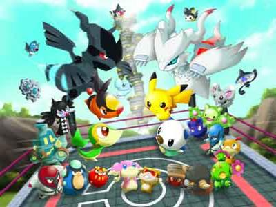 Game Pokemon Rumble U Hadirkan Figur Baru