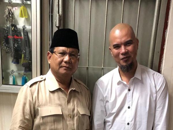 Kunjungi Ahmad Dhani di Rutan Medaeng, Prabowo: Ketidakbenaran Hukum Ini akan Dicatat Sejarah