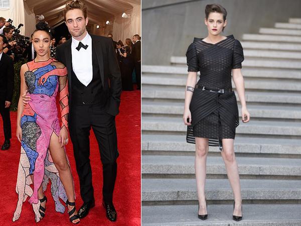 Robert Pattinson-FKA Twigs Debut Red Carpet di Met Gala, Kristen Stewart Pilih ke Seoul