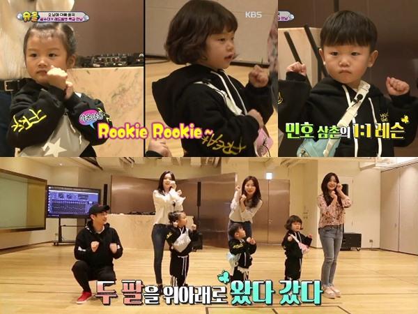 Lucunya Anak Lee Dong Guk Belajar Jadi Idola K-Pop Bareng Minho SHINee dan Red Velvet