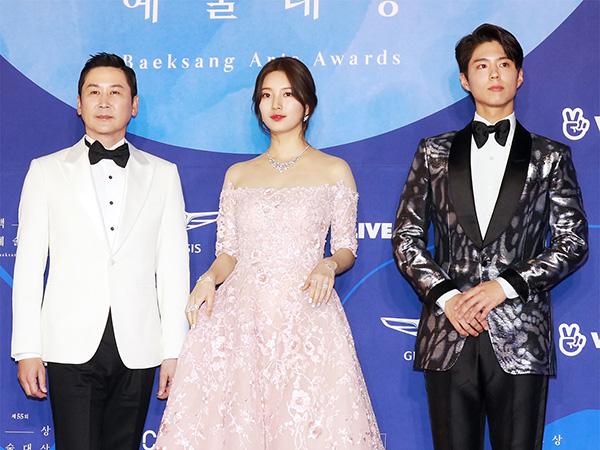 Shin Dong Yup, Suzy, dan Park Bo Gum Jadi MC Baeksang Arts Awards Lagi