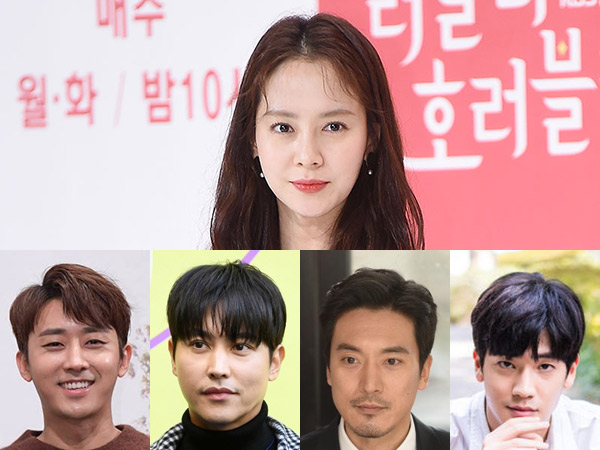 Song Ji Hyo Jadi Rebutan Empat Aktor Tampan Ini di Drama Romantis JTBC