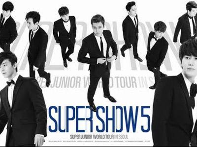 Member Super Junior Hitung Mundur Super Show 5