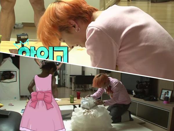Chu Sarang Buka Baju Didepannya, G-Dragon Tertunduk Malu!