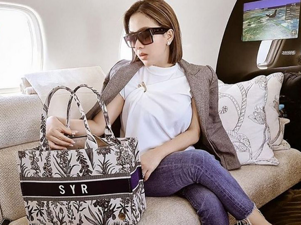 Syahrini Produksi Tas, Dituding Jiplak Brand Dior