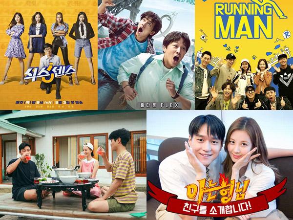 PSBB Seru Nonton Variety Show Korea Kocak di Rumah Aja, Berikut Ini
