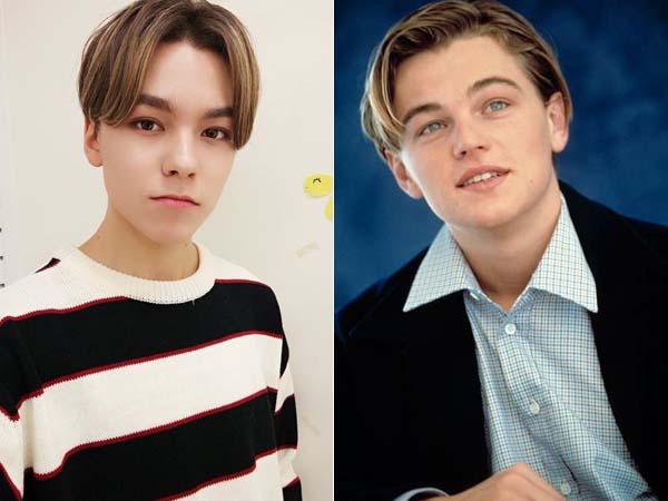 Sekumpulan 'Bukti' Kemiripan Wajah Vernon Seventeen dengan Leonardo DiCaprio Makin Viral