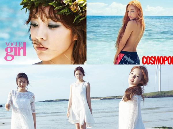 Kompetisi Summer Photoshoot Para Idola K-Pop Wanita, Siapa Paling 'Summery'?