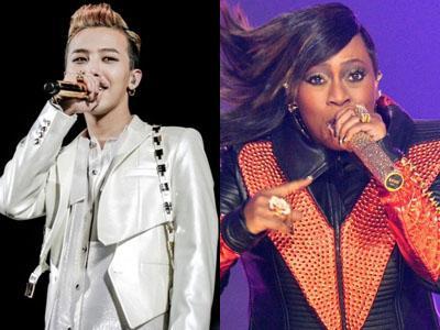Akrabnya G-Dragon dan Missy Elliott di Los Angeles!