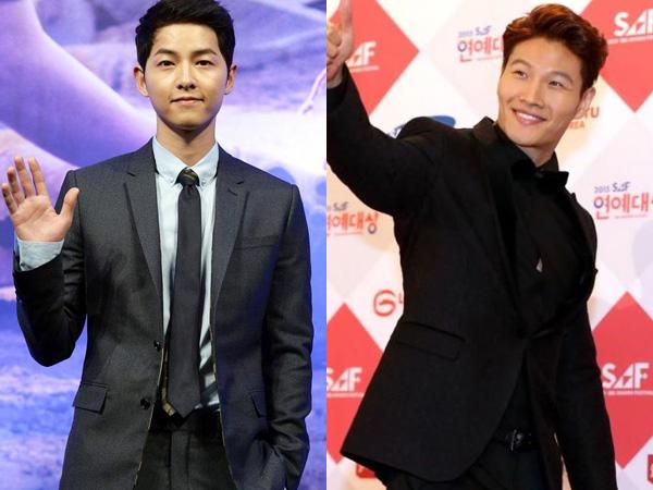 Sukses Pamer Abs Seksi dalam Dramanya, Song Joong Ki Berterima Kasih Pada Kim Jong Kook