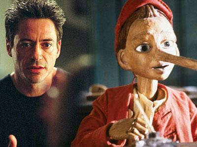Setelah Iron Man, Robert Downey Jr Perankan Pinocchio