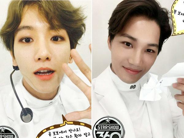 Dengan Gaya Kocak, Baekhyun Ungkap Kebiasaan Kai EXO yang Tak Bisa Jauh dari HP