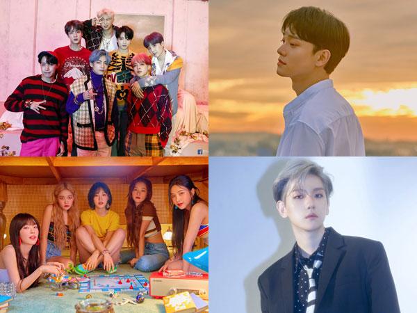 Chart Terbaru Billboard World Albums Didominasi oleh BTS dan Artis SM