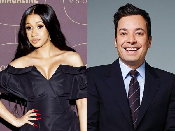 Alasan dan Rekor 'Rookie' Cardi B Berhasil Jadi Co-Host Jimmy Fallon di 'Tonight Show'