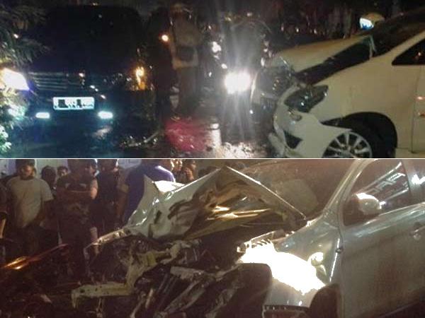Ini Rekaman CCTV Kecelakaan Maut Outlander di Kawasan Pondok Indah