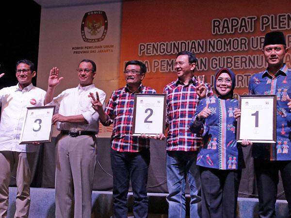 Debat Pilkada DKI, Cagub-Cawagub Beberkan Visi dan Misi untuk Jakarta