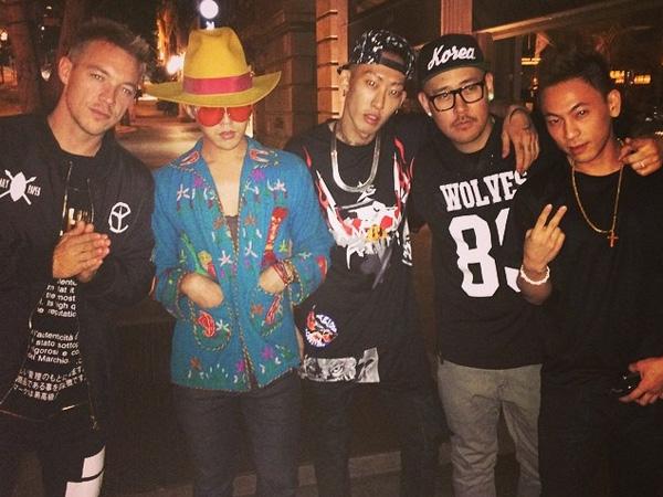 Diplo Pamer Foto Hangout Bareng G-Dragon dan CL di Los Angeles