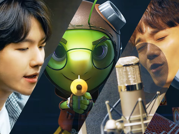 EXO-CBX Penuh Semangat Nyanyikan Theme Song 'Running Man' Versi Animasi!