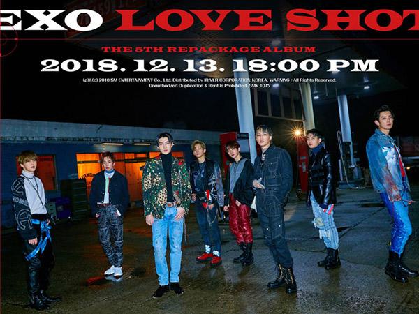 EXO Makin Garang di MV Lagu Terbaru 'Love Shot' Ciptaan Chen dan Chanyeol