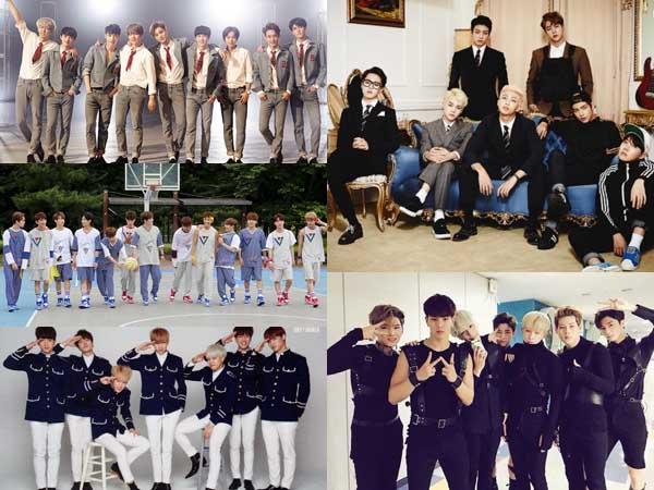Yuk Intip Penampilan Sederet Boy Group Yang Sukses Membawakan Lagu Grup Seniornya