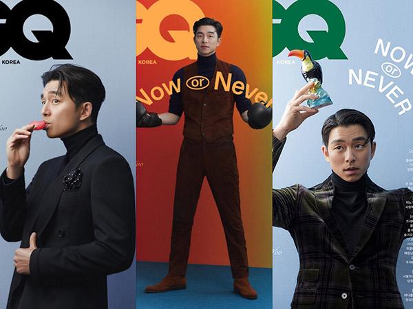 Bedah Fashion Pemotretan Gong Yoo Bergaya Klasik, Ganteng Maksimal