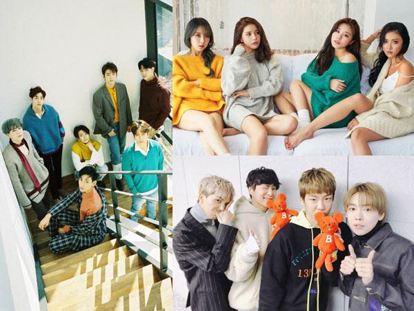 Tiga Grup K-Pop 'Angkatan 2014' Siap Comeback Bareng di Bulan Maret!